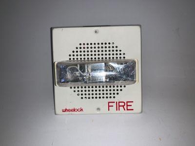 Wheelock ET70-241575W Fire Alarm Speaker/Strobe White