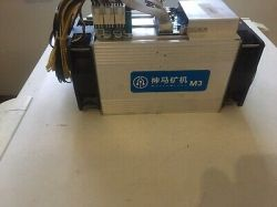 23 X WhatsMiner M3 + PSU (11.5 TH/s) X 23 Like Bitmain Antminer S9 Excellent