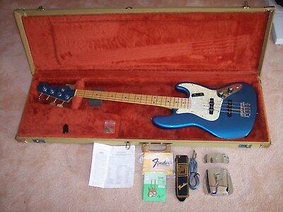 Fender Custom Shop Jazz Bass Very Early Production, January 1988