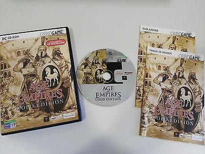 AGE OF EMPIRES GOLD AUSGABE SET FÜR PC DVD-ROM SPANISCH UBISOFT-CODEGAME