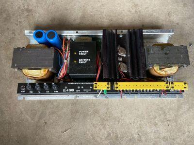Siemens Cerberus Pyrotronics EL-410D Fire Alarm MXLV Audio Amplifier