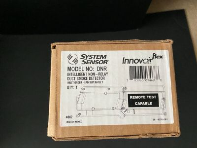 *NIB* *New* System Sensor DNR Fire Alarm Non-Relay Duct Smoke Detector