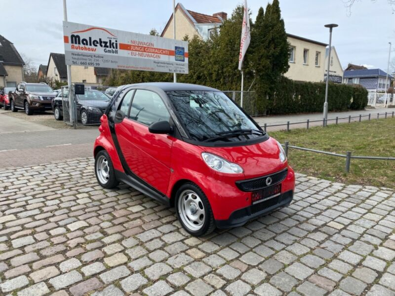 Smart fortwo 1.0  Pure coupe MHD*Klima*2.Hd*TOP*