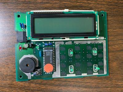 Honeywell Ademco Pittway S124 Security System Keypad Display Board