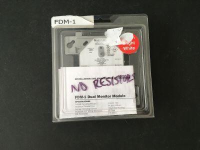 *NIB* *New* Notifier FDM-1 Fire Alarm Dual Monitor Module