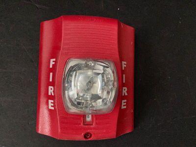 System Sensor SR Fire Alarm SpectrAlert Advance Remote Strobe Wall Red