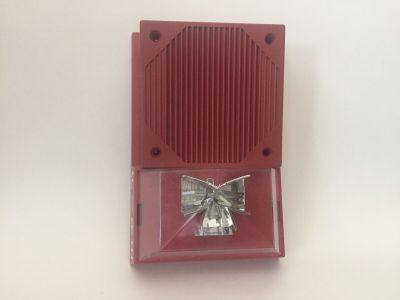 Space Age Electronics HA24D & VA4-BL-RA24D-HA24D Fire Alarm Horn/Strobe Combo