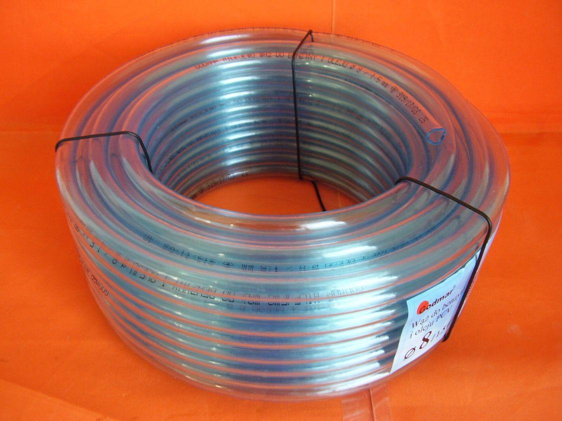 PVC Schlauch Benzinschlauch Luftschlauch Aquariumschlauch 2 3 4 5 6 7 8 10 12 mm
