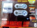SNES Super Nintendo Classic Edition Mini Console System With 21 Games NEW IN BOX