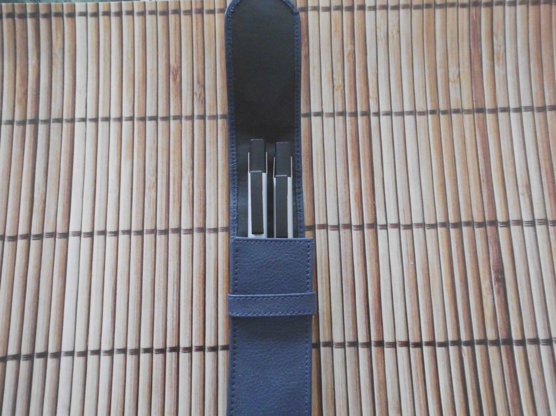 Kugelschreiberset inkl. Etui PU Leder mit Kugelschreiber & Bleistift