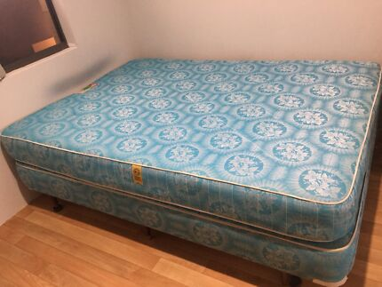 Double Bed Mattress And A Frame