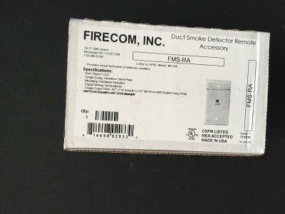 *NIB* *New* Air Products Controls Firecom MS-RA Fire Alarm Duct Smoke LED (QTY)