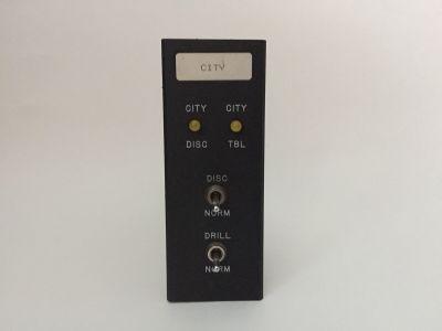 Simplex 556-214 (Rev E) 2001-2044 City Module Card for Simplex 2001 FACP