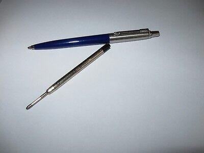 Parker Jotter Kugelschreiber dunkelblau  + 1 Mine schwarz  SUPER !!!!
