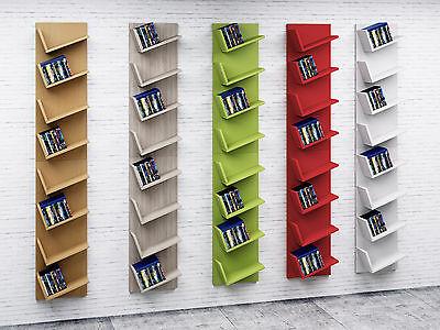 VCM Design Wandregal Hängeregal Bücherregal CD DVD Schrank Regal