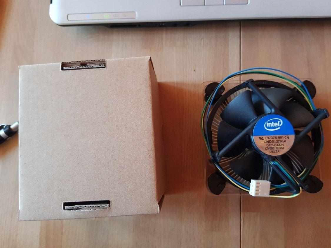 CPU  Lüfter / Kühler  Intel Boxed für Intel CPU Sockel 1150, 1151 ,1155, 1156