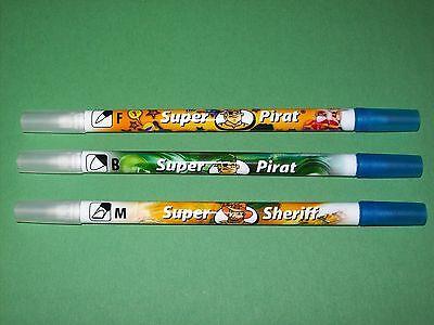 Pelikan Tintenlöscher Tintenkiller Super Sheriff Pirat verschiedene Spitzen