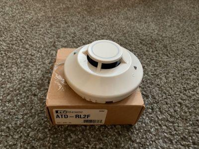 Gamewell FCI ATD-RL2F Fire Alarm Heat Detector