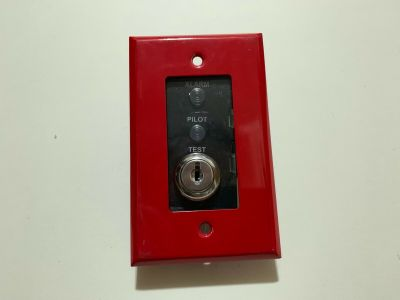 Silent Knight SD505-DTS-K Fire Alarm Remote Test Switch