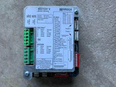 Hirsch Match 2 Reader Interface