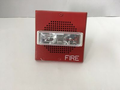 Wheelock ET70-24MCW Fire Alarm Speaker/Strobe Red