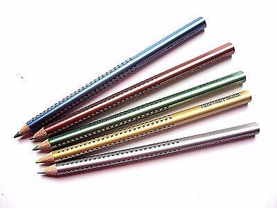 Faber Castell Jumbo Grip Farbstift Metallic Buntstift