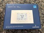 Emerson Sensi Wi-Fi Thermostat Smart Home ST55U Classic New White HVAC