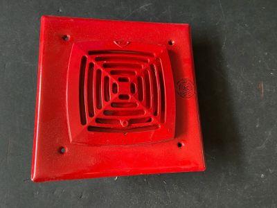 *NIB *New* EST Edwards 881ALD-AWC Fire Alarm Horn Red