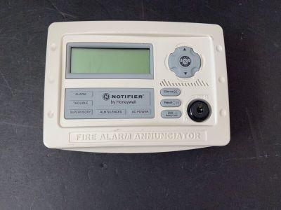 Notifier N-ANN-80-W Fire Alarm LCD Annunciator White