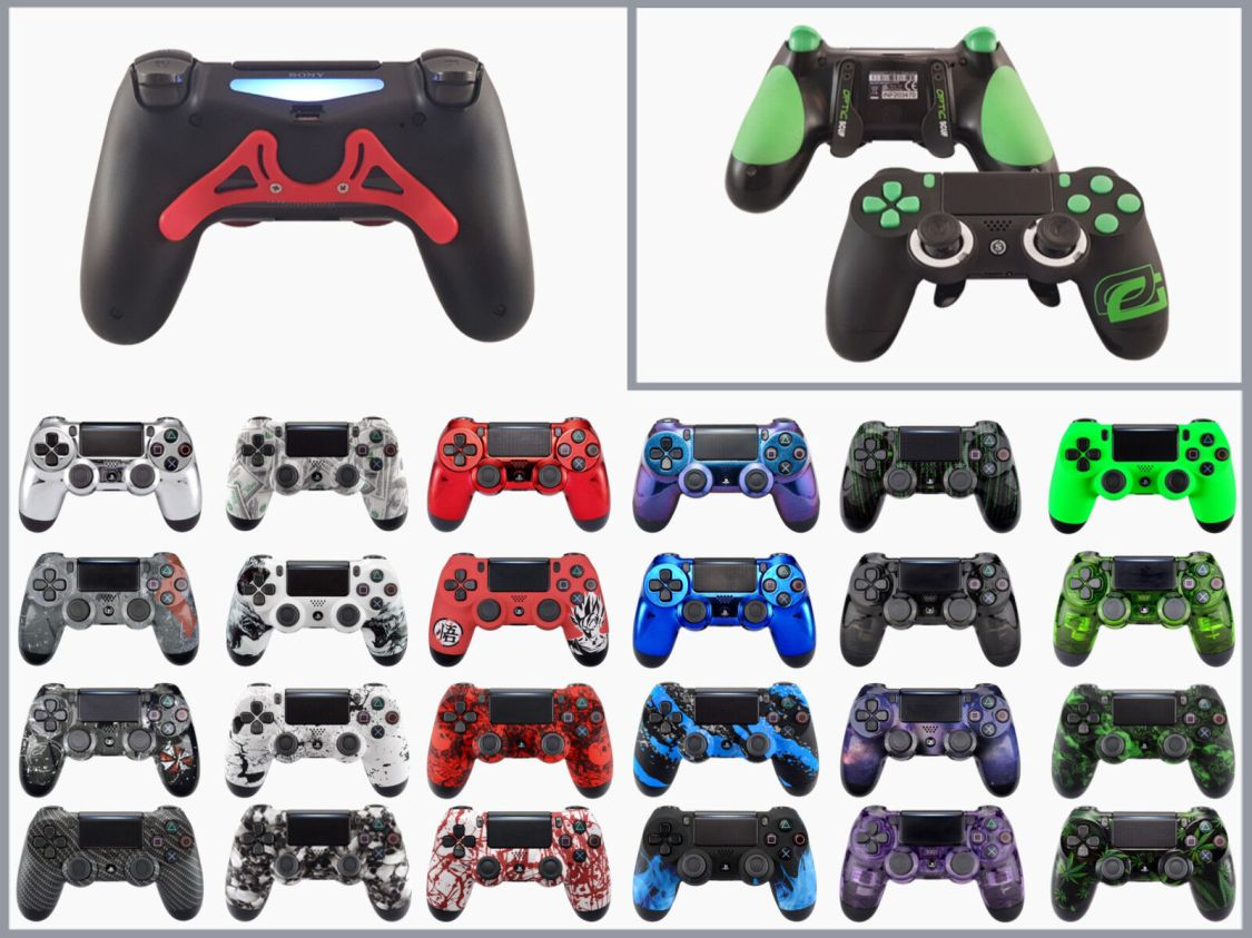 PS4 Controller mit Paddles | by MVP-Controller oder SCUF Gaming
