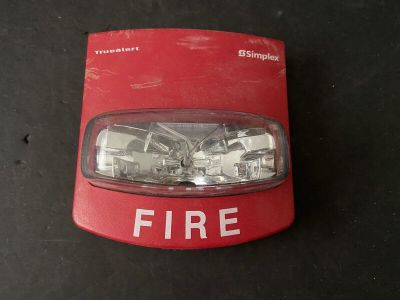 Simplex 4906-9101 TrueAlert Fire Alarm Remote Strobe