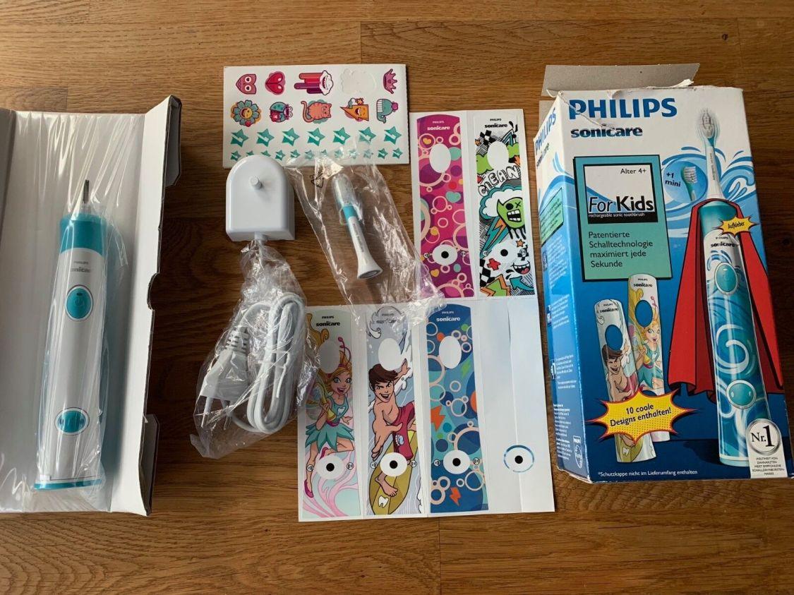 +++ Philips Sonicare HX6320 elektrische Zahnbürste für Kinder NEU +++