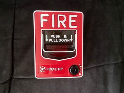 Fire-Lite BG-12 Fire Alarm Pull Station Honeywell