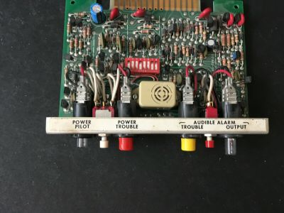 Spectronics 640/COM-A Fire Alarm Controller Module Common Card