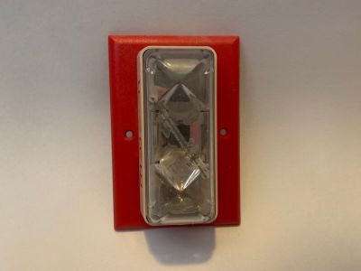 *FREE* EST Edwards 202-3A-T Integrity Fire Alarm Remote Strobe