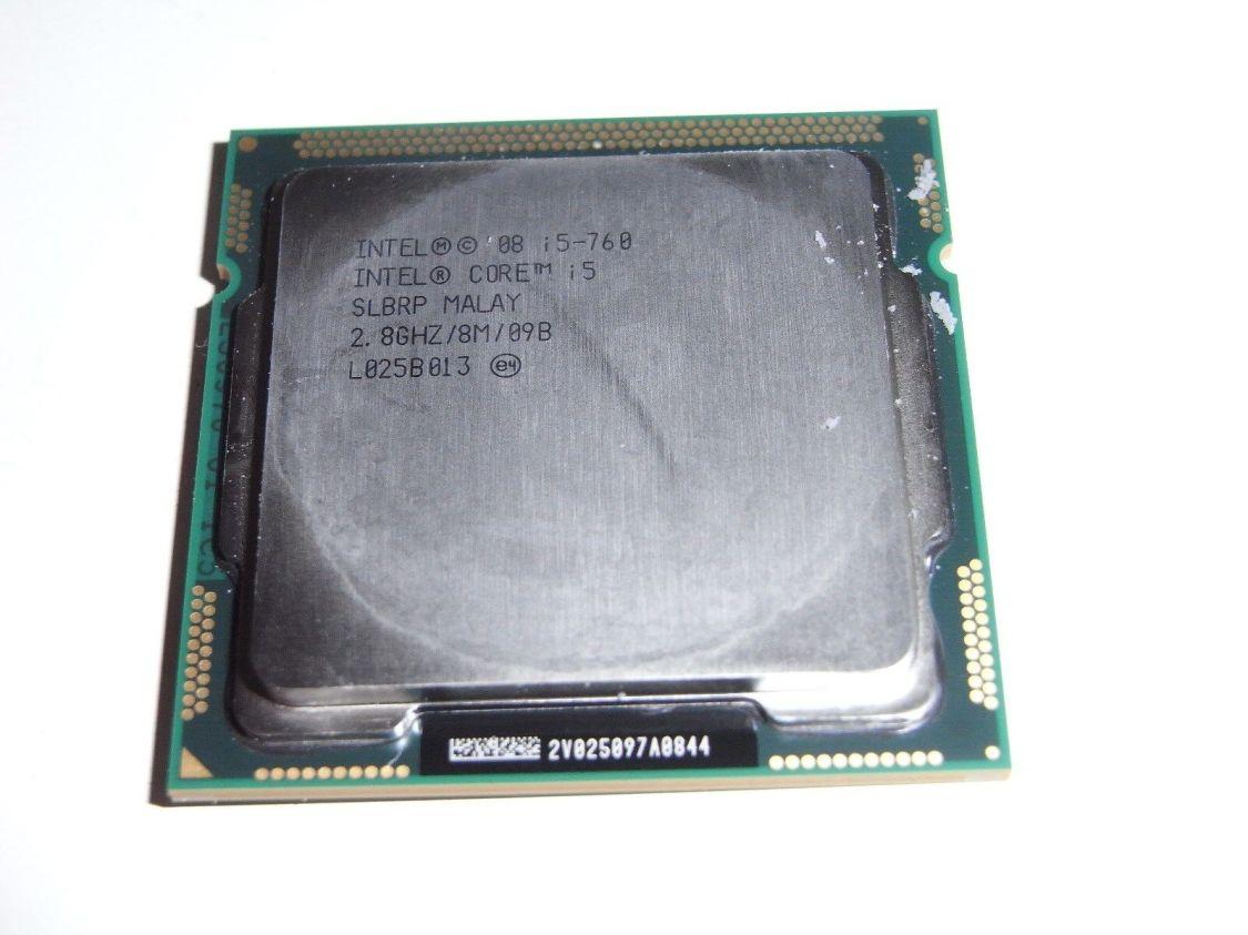 Intel Core i5-750 SLBLC CPU 2,66GHz Sockel 1156 H Computer PC Prozessor