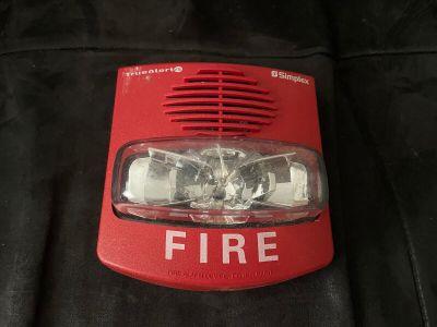 Simplex 49AV-WRF TrueAlert ES Addressable Fire Alarm Weatherproof Horn/Strobe