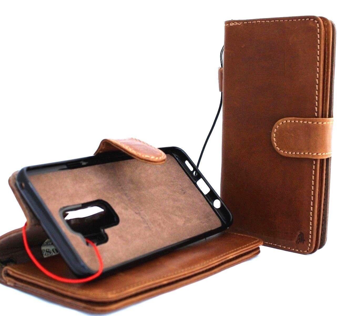 Genuine Full Leather Retro Case for Samsung Galaxy S9 Plus ...