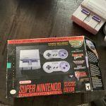 Super Nintendo Entertainment System SNES Classic Mini Edition *No Power Brick*