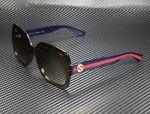 GUCCI GG0036S 004 Rectangular Square Havana Brown 54 mm Women's Sunglasses
