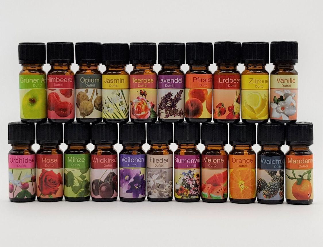 20er Set ätherisches Duftöl, Duftölen, Aromaöl, Raumduft, Sparset, Duft