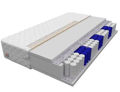 Matratze METIS 7 Zonen 180x200 Premium Taschenfederkern NanoHard Federkern H3