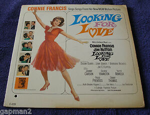 Connie Francis 1964 MGM Mono Soundtrack LP Looking For Love | eBay