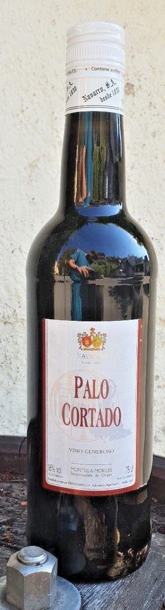Sherry Nachbargebiet ! Navarro Montilla Palo Cortado 0,75l Spanien 16% vol.