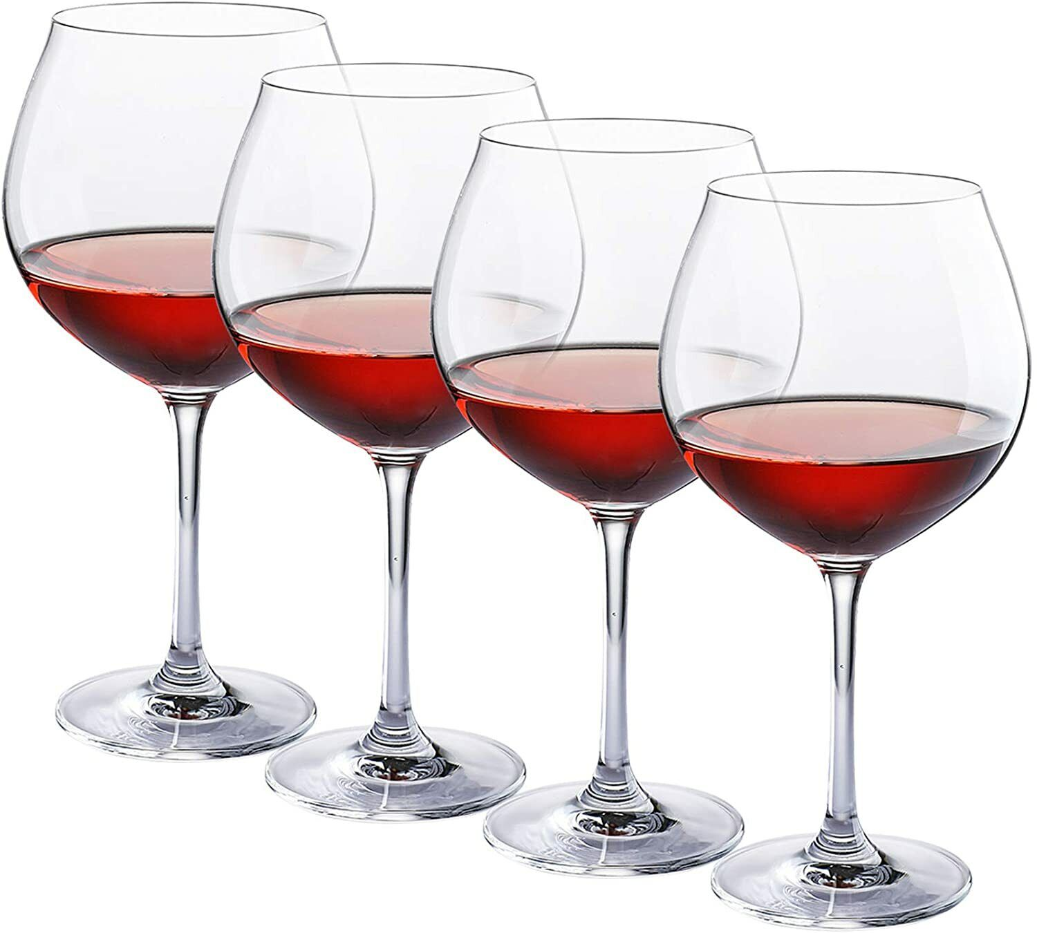 French Bistro Large Red Wine Glasses 26 Ounce Set Of 4 For Sale Online Ebay