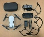 DJI Mavic Air Quadcopter Drone 4K Foldable Portable Drone, White