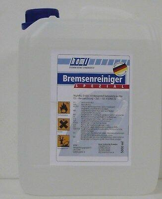 5 L Liter Kanister hemi SPEZIAL BREMSENREINIGER / ENTFETTER / TEILEREINIGER