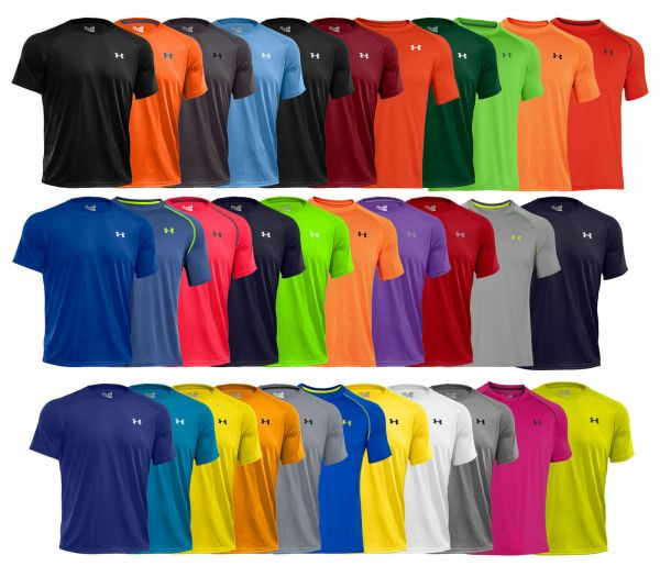 New Under Armour Tech Men's Athletic Short Sleeve T Shirt 1228539 All Colors