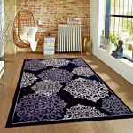 Details About Rugs Area Rugs Carpets Area Rug Modern Floor Large Living Room Black 5x7 Rugs