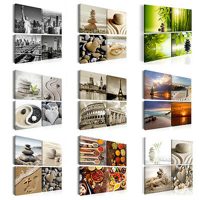 Leinwand Bilder xxl Kunstdruck Wandbilder Natur Strand SPA Küche Reise New York